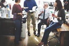Geschäft Team Working Office Worker Concept Lizenzfreies Stockbild