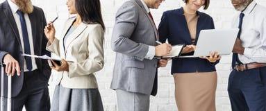 Geschäft Team Working Research Planning Concept Stockfoto