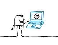 Geschäft u. Internet Lizenzfreie Stockfotos