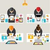 Geschäft und Büro-Vektor-Design Stockfoto