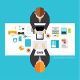 Geschäft und Büro-Vektor-Design Lizenzfreie Stockfotografie