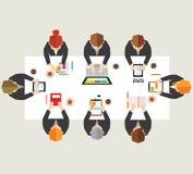 Geschäft und Büro-Vektor-Design Lizenzfreie Stockfotos