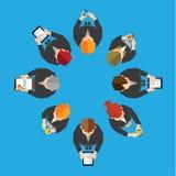 Geschäft und Büro-Vektor-Design Stockfotografie