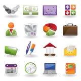 Geschäft und Büroikone Lizenzfreie Stockfotografie