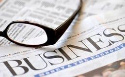 Geschäft und die Wirtschaftlichkeit Stockbild