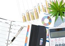 Geschäft und Finanzierung Lizenzfreie Stockfotografie