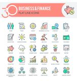 Geschäft und Finanzierung lizenzfreie abbildung