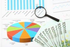 Geschäft und Finanznoch Lebensdauer Stockbild