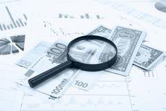 Geschäft und Finanznoch Lebensdauer Lizenzfreies Stockbild