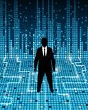 Geschäft und High-Teches Lizenzfreies Stockbild