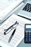Geschäft und Schreibarbeit Lizenzfreies Stockfoto