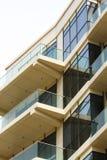 Geschäft und Wohnglasgebäude Lizenzfreie Stockbilder