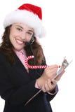 Geschäft am Weihnachten Lizenzfreie Stockfotografie