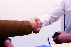 Geschäft zum Arbeiten im Büro das Konzept für erfolgreiche Arbeit zum Ziel der Organisation Lizenzfreie Stockbilder