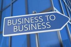 Geschäft zum Geschäft Lizenzfreie Stockfotografie