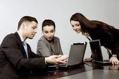 Geschäft zusammen Lizenzfreie Stockbilder