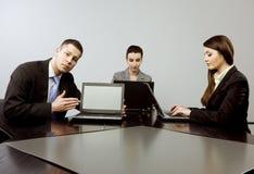 Geschäft zusammen Lizenzfreies Stockbild