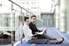 Geschäft zusammen Lizenzfreies Stockfoto
