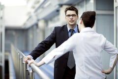 Geschäft zusammen Lizenzfreie Stockfotografie