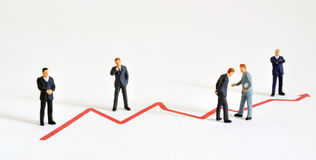 Geschäftliche Entwicklung Lizenzfreie Stockfotos