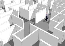 Geschäftliches Problem Stockfotos