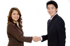 Geschäfts-Abkommen Lizenzfreies Stockfoto