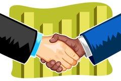 Geschäfts-Abkommen stock abbildung