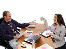 Geschäfts-Abkommen 4 Lizenzfreie Stockfotografie