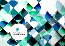 Geschäfts-abstrakte geometrische Schablone Stockfoto