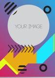 Geschäfts-abstrakter Schablonen-Hintergrund Lizenzfreies Stockbild