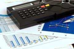 Geschäfts-Analyse Stockfoto