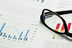 Geschäfts-Analyse Stockbild