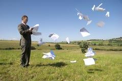 Geschäfts-Arbeits-Überlastung Lizenzfreies Stockbild