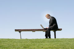Geschäfts-Arbeits-Ethik stockfotos