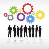 Geschäfts-Arbeitsvektor Lizenzfreies Stockbild