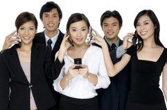 Geschäfts-Aufrufe Lizenzfreies Stockbild