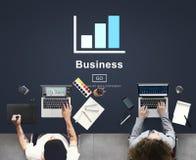 Geschäfts-Balkendiagramm-Strategie-Planungs-Konzept Stockfotos