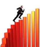 Geschäfts-Bergsteiger vektor abbildung