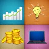 Geschäfts-Collage vektor abbildung