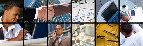 Geschäfts-Collage Lizenzfreie Stockfotos