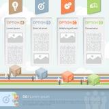 Geschäfts-Design-Schablonen-Plan Lizenzfreies Stockbild