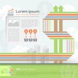 Geschäfts-Design-Schablonen-Plan Lizenzfreie Stockfotos