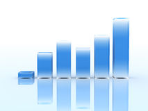 Geschäfts-Diagramm Lizenzfreie Stockfotografie
