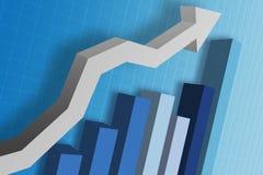 Geschäfts-Diagramm Lizenzfreies Stockfoto