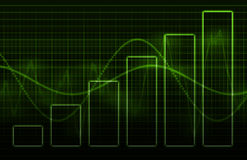 Geschäfts-Diagramm-Konzept-Diagramm Lizenzfreies Stockbild