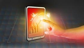 Geschäfts-Diagramme und Diagramme Lizenzfreie Stockfotos