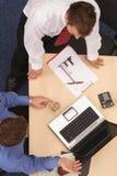 Geschäfts-Diskussion lizenzfreies stockfoto