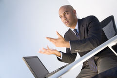 Geschäfts-Diskussion lizenzfreie stockfotos