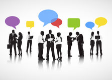 Geschäfts-Diskussions-Vektor Stockbild