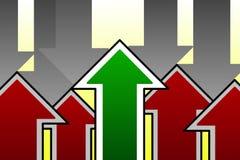 Geschäfts-Durchbruch-Konzept Gewinnende Strategie-Illustration lizenzfreies stockfoto